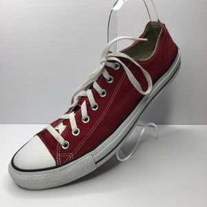 Converse All Stars Chuck Taylor Low Tops 13 Red